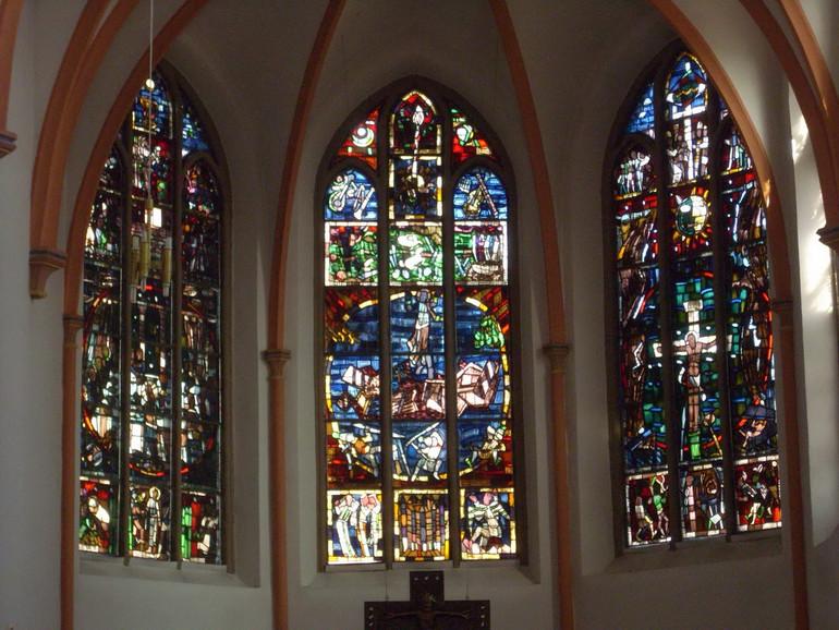 Kirchenfenster Herz-Jesu-Kirche Sangerhausen