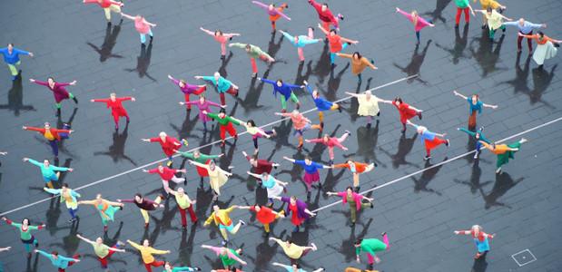 Eine Stadt tanzt